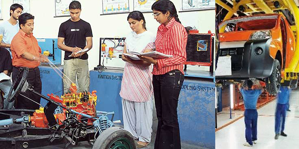 Automotive Design Engineering Colleges In India